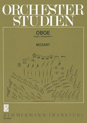 Wolfgang Amadeus Mozart - Orchesterstudien Oboe - Partition - di-arezzo.fr