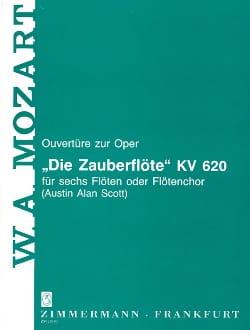 Ouvertüre Zur Oper Die Zauberflöte - 6 Flöten Oder Flötenchor laflutedepan