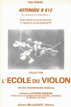 Asteroïde B 612 – Violon violoncelle - Marc Bleuse - laflutedepan.com