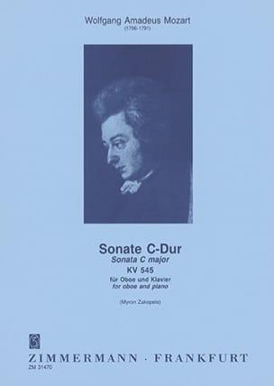 MOZART - Sonata C-Dur Kv 545 - Sheet Music - di-arezzo.com