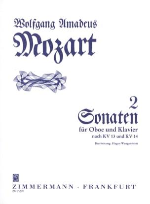 2 Sonaten - Oboe und Klavier - MOZART - Partition - laflutedepan.com