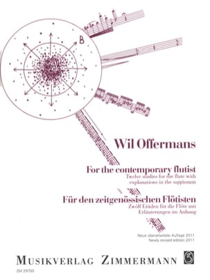 Wil Offermans - For the contemporary flutist - Partition - di-arezzo.fr