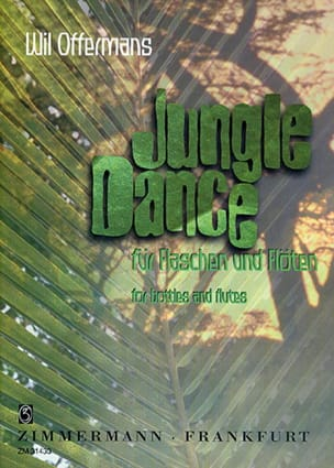Will Offermans - Jungle Dance – Bottles and flutes - Partition - di-arezzo.fr