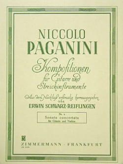 Niccoló Paganini - Sonata Concertata - Sheet Music - di-arezzo.co.uk