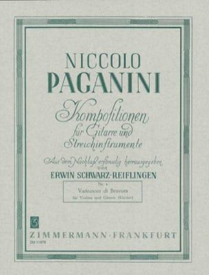 Niccolò Paganini - Variazioni di Bravura - Noten - di-arezzo.de