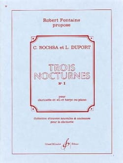 Bochsa Charles / Duport Jean Louis - 3 Nocturnes – N° 1 - Partition - di-arezzo.fr
