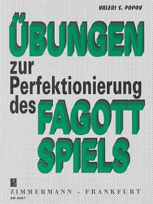 Valeri S. Popov - Übungen zur Perfektionierung des Fagottspiels - Sheet Music - di-arezzo.com