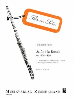 Wilhelm Popp - Hi to Russia Op. 496-499 - Sheet Music - di-arezzo.com