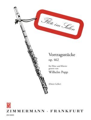 Wilhelm Popp - Vortragsstücke op. 462 - Flöte Klavier - Partition - di-arezzo.ch