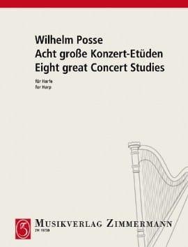 Wilhelm Posse - Acht große Konzert-Etüden - Partitura - di-arezzo.es
