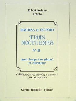Bochsa Charles / Duport Jean Louis - 3 Nocturnes – N° 2 - Partition - di-arezzo.fr
