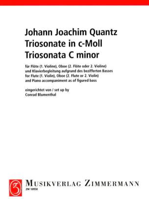 Triosonate c-moll - Flöte Violine, Oboe 2. Flöte 2. Violine u. Klavier laflutedepan