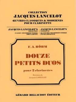 F. A. Böhm - 12 Petits duos - Partition - di-arezzo.fr