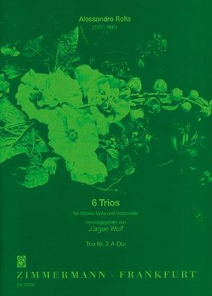 6 Trios -Nr. 2 A-Dur - Partitur + Stimmen - laflutedepan.com