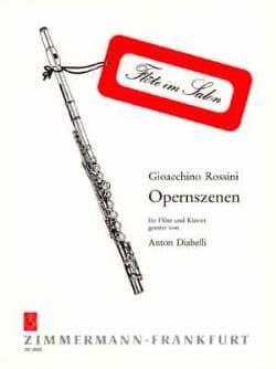 Opernszenen - Flöte Klavier - Gioacchino Rossini - laflutedepan.com