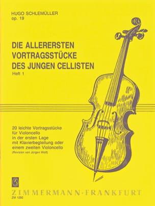 Hugo Schlemüller - Die Allerersten Vortragsstücke op. 19, Volume 1 - Partition - di-arezzo.fr