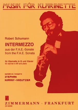 Intermezzo – Klarinette Klavier - Robert Schumann - laflutedepan.com