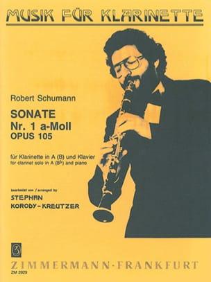 Sonate Nr. 1 a-moll op. 105 - Klar. in A B Klavier - laflutedepan.com