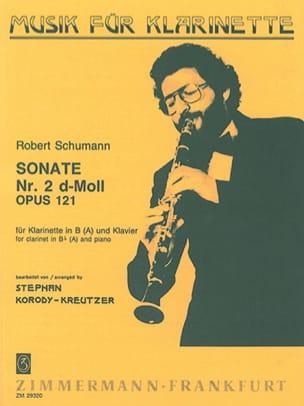 Robert Schumann - Sonate d-Moll für Klarinette in B (A) und Klavier - Partition - di-arezzo.fr