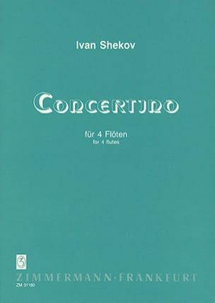 Ivan Shekov - Concertino - 4 Flutes - Sheet Music - di-arezzo.com