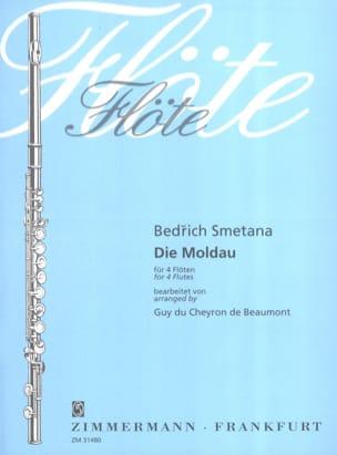 Bedrich Smetana - Die Moldau – 4 Flûtes - Partition - di-arezzo.fr
