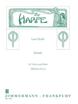 Louis Spohr - Sonate C-Moll – Violine Harfe - Partition - di-arezzo.fr