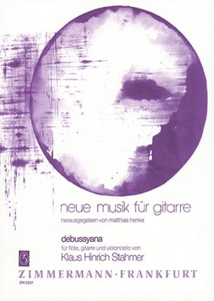 Klaus Hinrich Stahmer - Debussyana – Spielpartitur - Partition - di-arezzo.fr