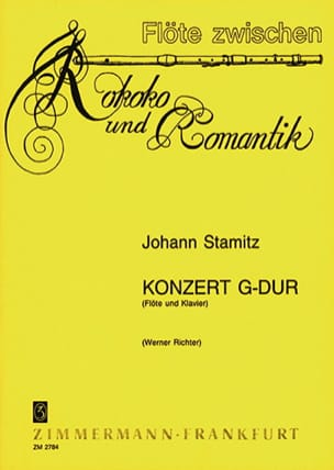 Konzert G-Dur - Johann Stamitz - Partition - laflutedepan.com