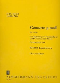 Concerto g-moll – Oboe Klavier - laflutedepan.com