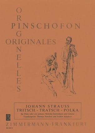 Johann (Fils) Strauss - Tritsch-Tratsch-Polka – Flöte (Melodieinstrument) Gitarre - Partition - di-arezzo.fr
