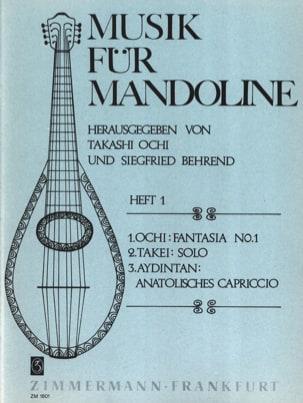 Ochi Takashi / Takei Morishige / Aydinta Zya - Fantasia Nr. 1 / Solo / Anatolisches Capriccio - Partition - di-arezzo.fr