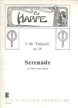 Luigi Maurizio Tedeschi - Sérénade op. 28 - Partition - di-arezzo.fr