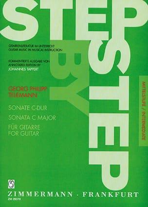 Georg Philipp Telemann - Sonate C-Dur - Guitare - Partition - di-arezzo.fr