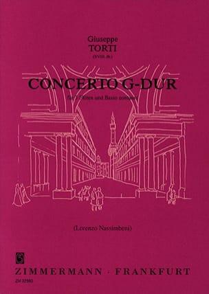 Giuseppe Torti - Concerto G-Dur - Sheet Music - di-arezzo.com