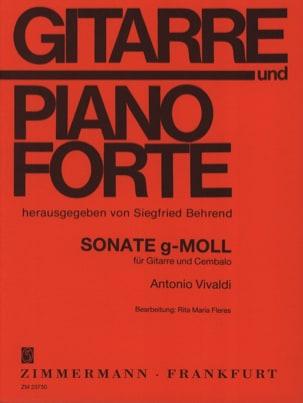 Antonio Vivaldi - Sonate en Sol Min. - Partition - di-arezzo.fr