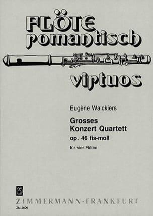 Grosses Konzert-Quartett fis-moll - 4 Flöten laflutedepan