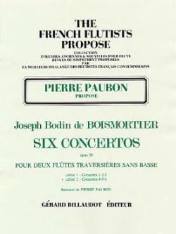 6 Concertos op. 38 Volume 2 - 2 Flûtes - laflutedepan.com