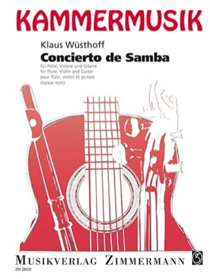 Concierto de Samba -Flöte Violine Gitarre - laflutedepan.com