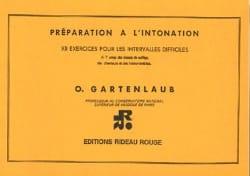 Odette Gartenlaub - Preparation for intonation - Sheet Music - di-arezzo.co.uk