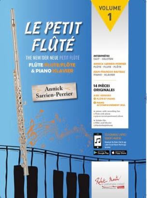 Annick / Basteau Jean-François Sarrien-Perrier - The Little Flute - Sheet Music - di-arezzo.co.uk