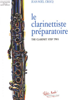 Jean-Noël Crocq - The Preparatory Clarinetist - Sheet Music - di-arezzo.co.uk