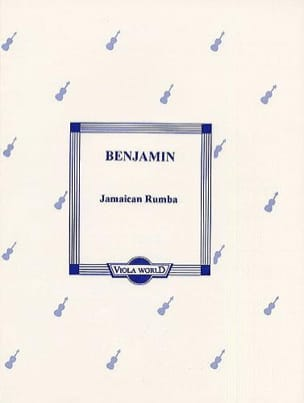 Jamaican Rumba - Viola Arthur Benjamin Partition Alto - laflutedepan
