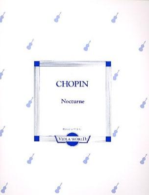 CHOPIN - Nocturne - Alto - Partition - di-arezzo.fr