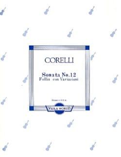 CORELLI - Sonata n ° 12 - Sheet Music - di-arezzo.com