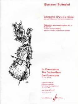 Giovanni Bottesini - Concerto n° 2 en si mineur - Contrebasse - Partition - di-arezzo.ch