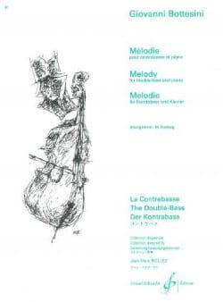 Giovanni Bottesini - Mélodie - Partition - di-arezzo.fr