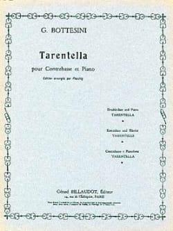 Giovanni Bottesini - Tarentella - Sheet Music - di-arezzo.co.uk