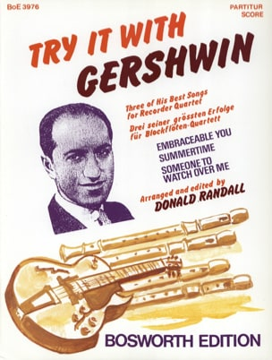 George Gerswhin - Try it with Gershwin - Partition - di-arezzo.fr