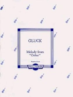 GLUCK - Melody from Orfeo - Partition - di-arezzo.fr