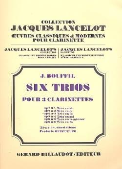 6 Trios - op. 7 n° 3 en fa Jacques-Jules Bouffil laflutedepan
